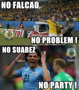rodrigues cavani suarez 263x300 No Suarez, No Party