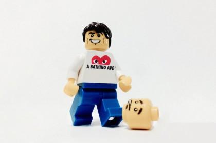 Streetwear brands in the LEGO look