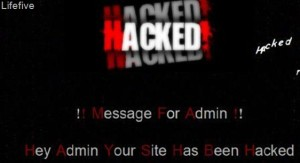 Lifefive Hacked 300x163 How to Trace WordPress Hacks in Your Website?