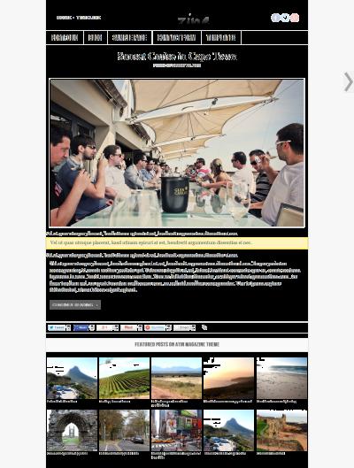 atin mag 400x529 ATIN Magazine Responsive WordPress Theme