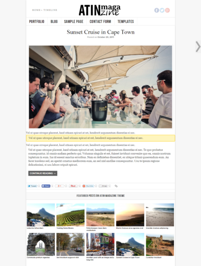 atin mag 400x530 ATIN Magazine Responsive WordPress Theme