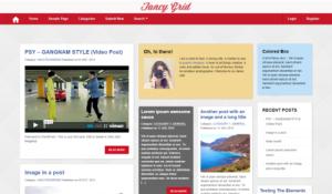 pinpress theme 300x175 Pinterest Style WordPress Theme