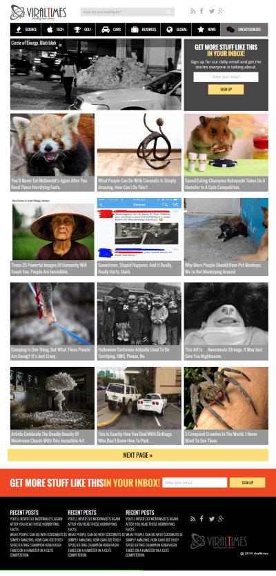 viraltimes wordpress theme 400x835 ViralTimes WordPress Theme